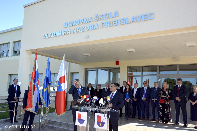 Plenković u Pribislavcu_OŠ Vladimira Nazora