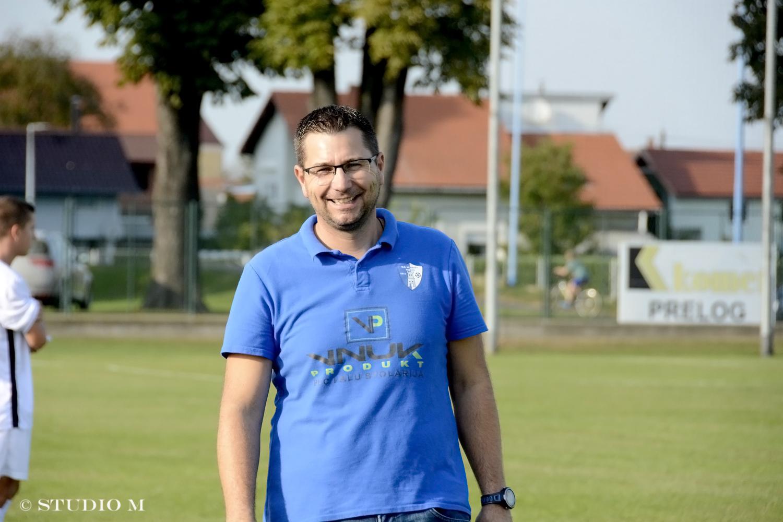 Damir Pigac, trener NK Mladost Komet Prelog