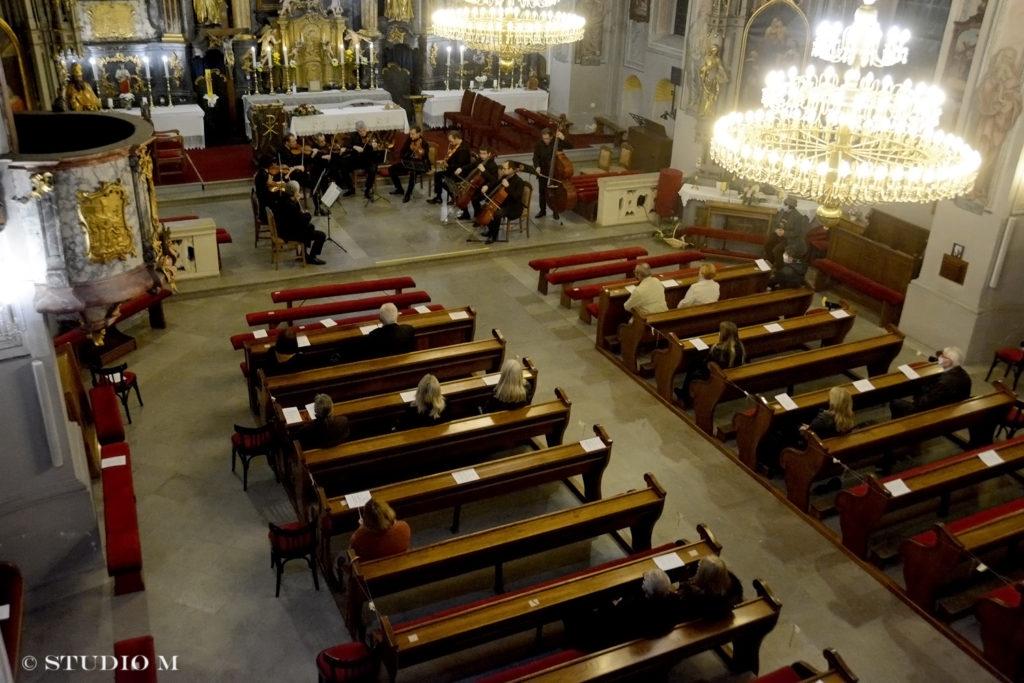 Zagrebački solisti, koncert u Župnoj crkvi sv. Jakoba