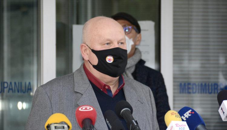 Josip Grivec, načelnik Stožera civilne zaštite MŽ