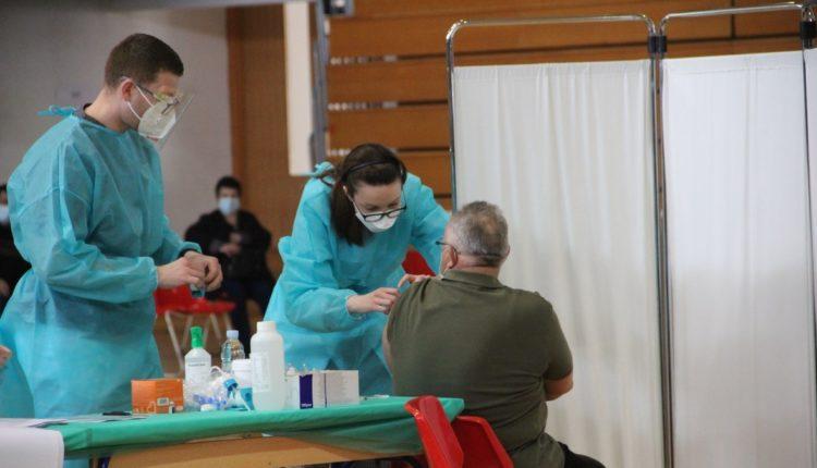Cijepljenje u Čakovcu. 20.2.2021.