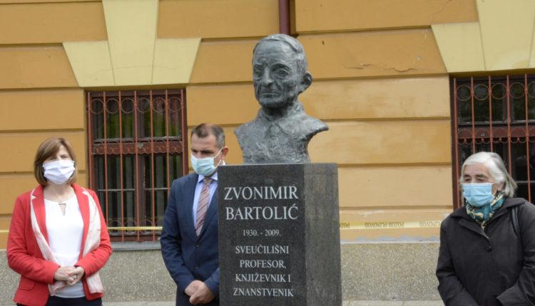 Otkrivanje biste Zvonimiru Bartoliću, Čakovec, 26.4.2021.